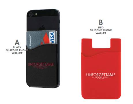 Unforgettable Giveaway Phone Cases