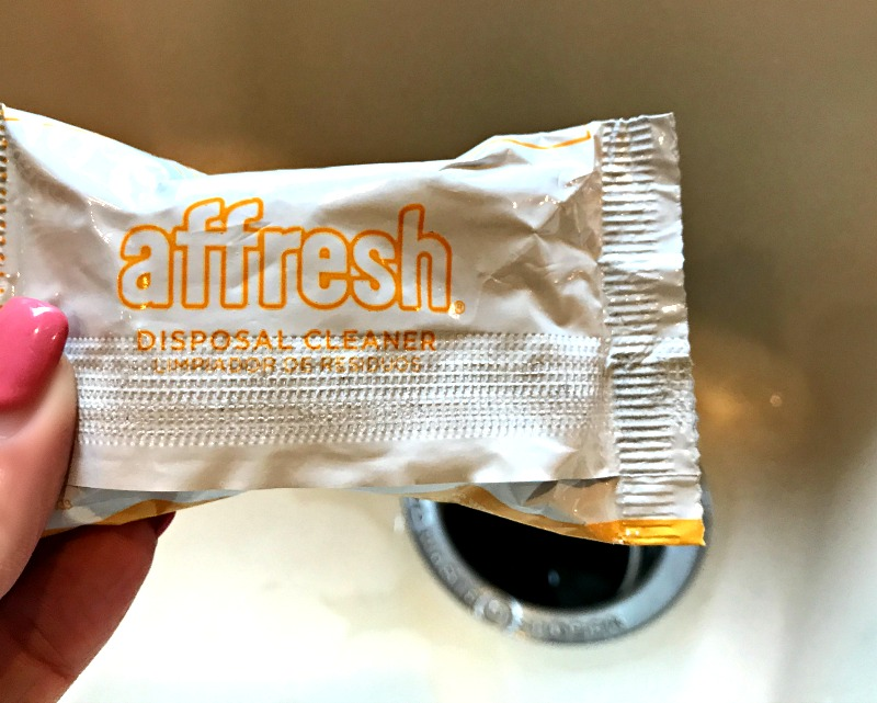 affresh disposal cleaner tablet