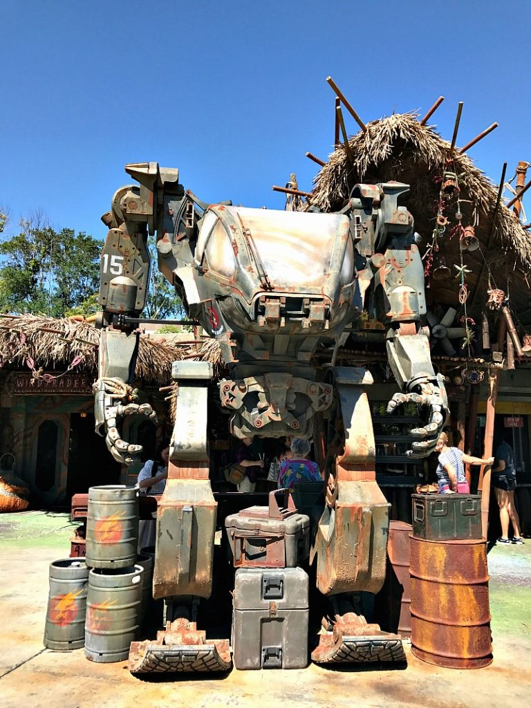 pandora mechanical warrior