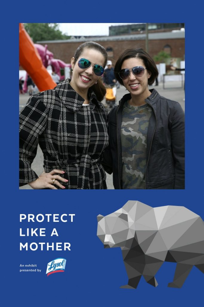 protect like a mother -photo op