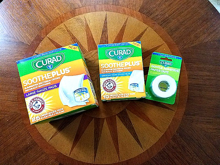 curad soothe plus
