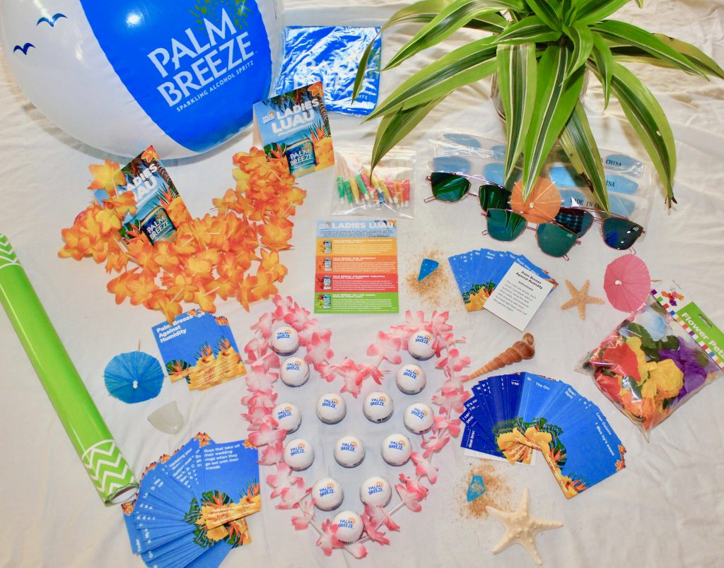 Latina Home Party Palm Breeze party box