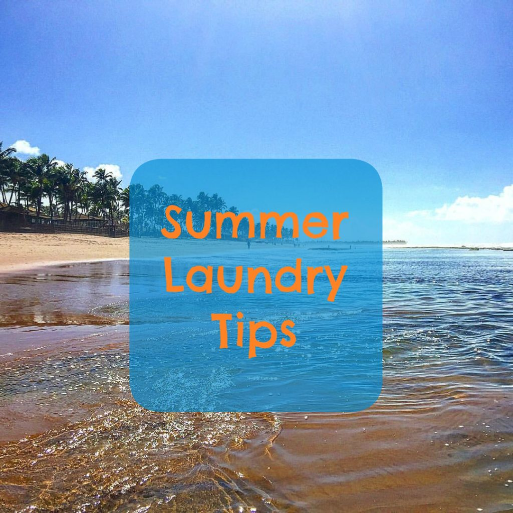 summer laundry tips