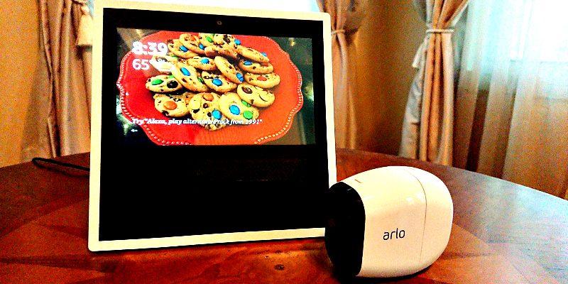 Amazon Echo Show and Arlo Cameras