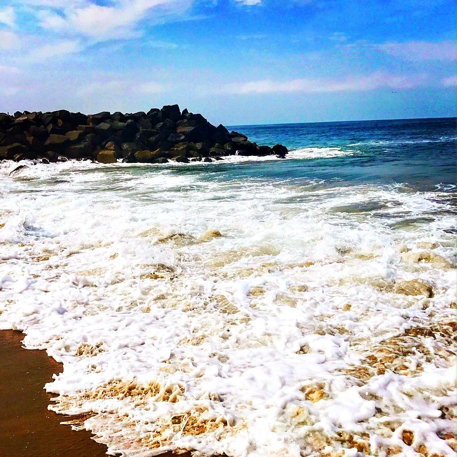 San Diego Beach in the summer