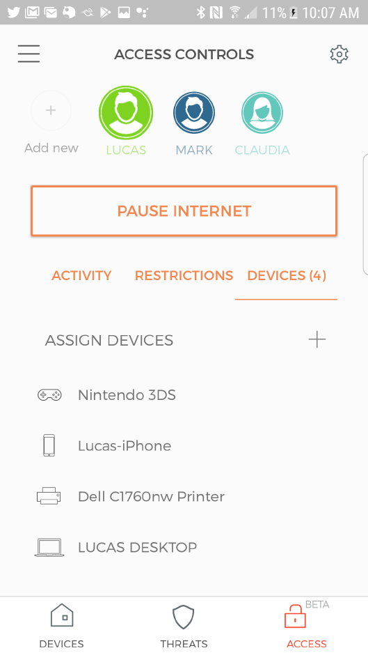 Cujo Wifi security