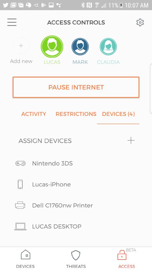 Cujo Wifi security