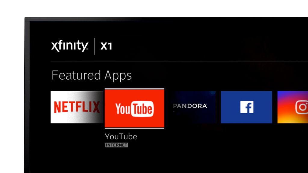Xfinity youtube apps