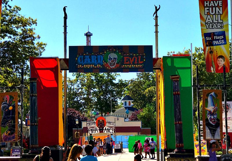 Carnevil at Six Flags