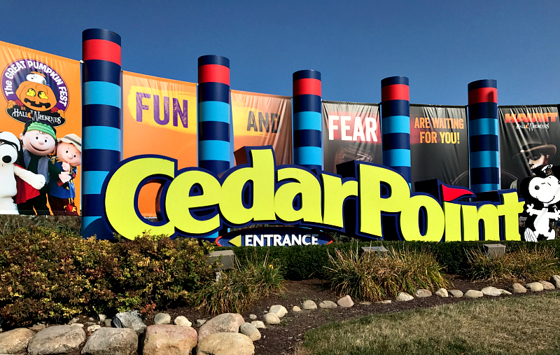 Cedar Point in Ohio