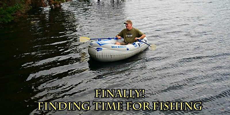 Finding time for fishing