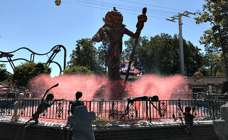 Fright Fest At Six Flags
