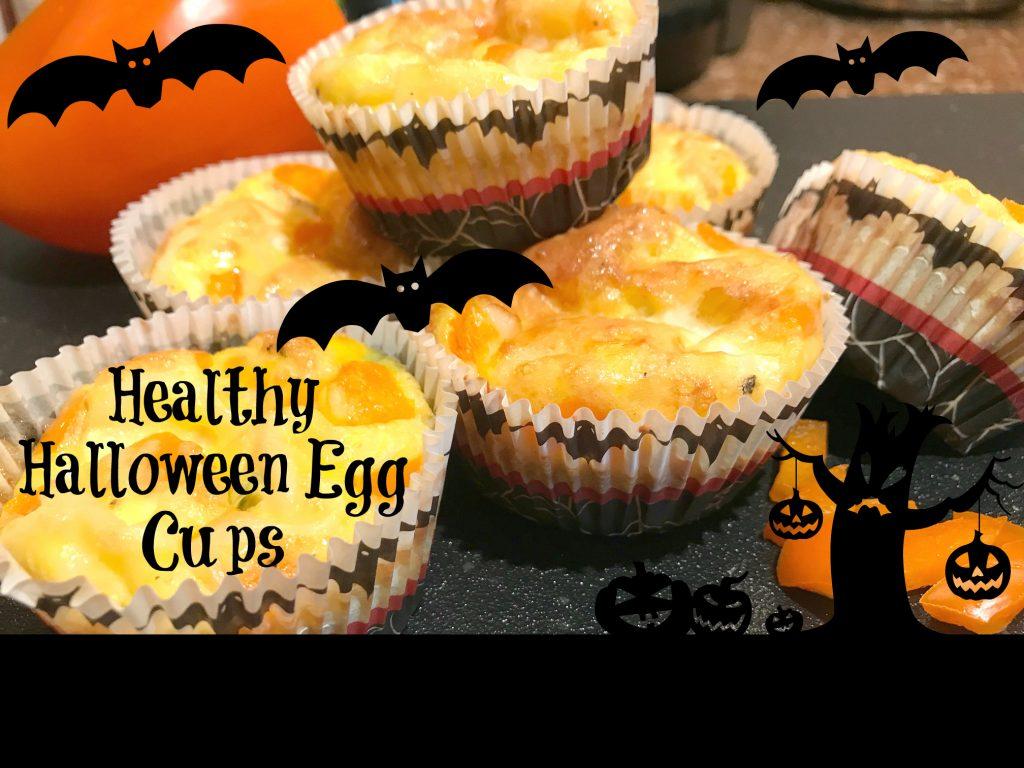 Healthy Halloween Egg cups