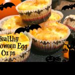 Healthy Halloween Breakfast Egg Cups