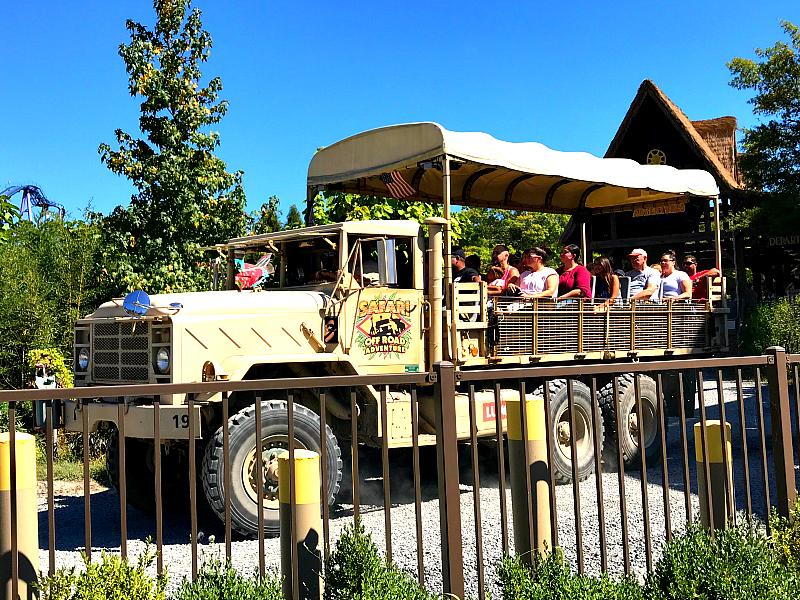 Safari Ride At Six Flags