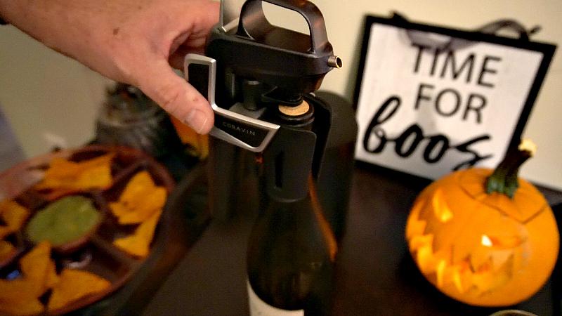 coravin wine pourer