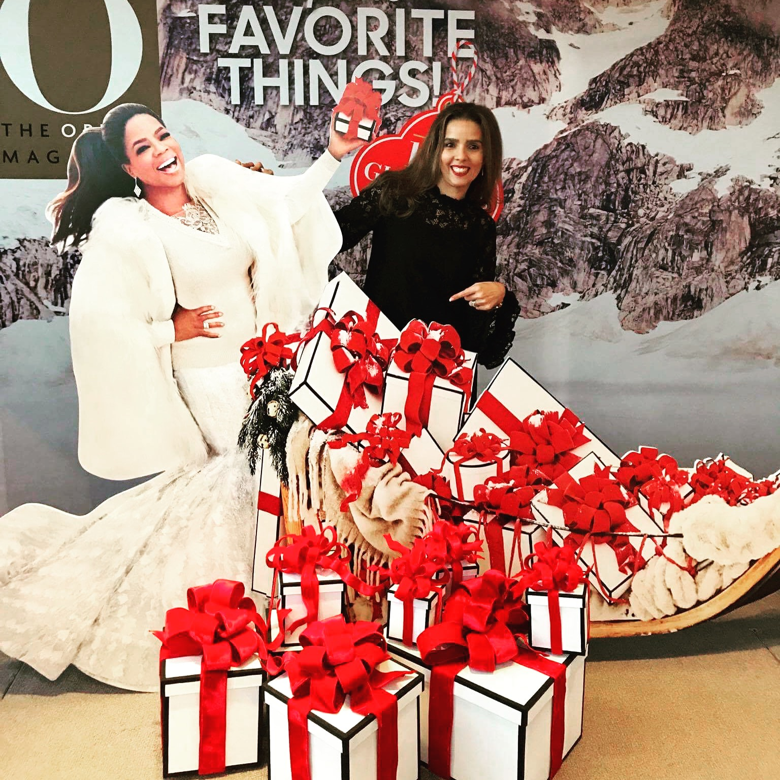 Oprah's favorite things party