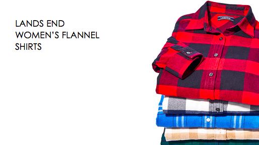 Landsend flannel shirt
