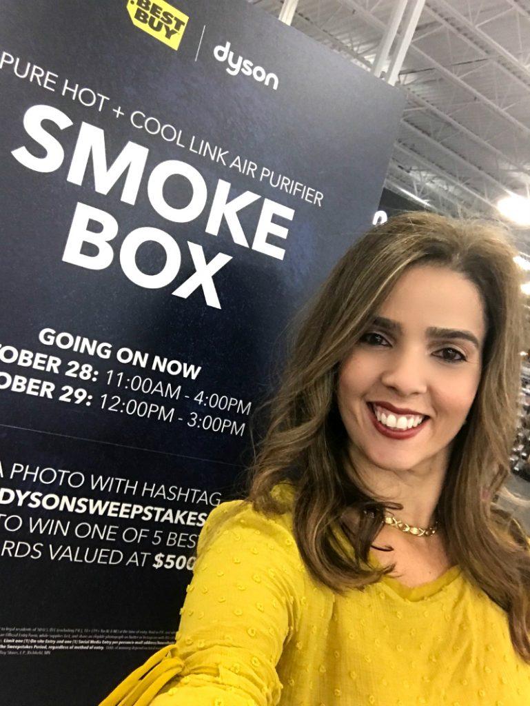 smoke vanish with Dyson
