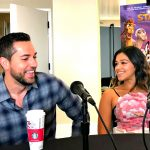 Zachary Levi and Gina Rodriguez