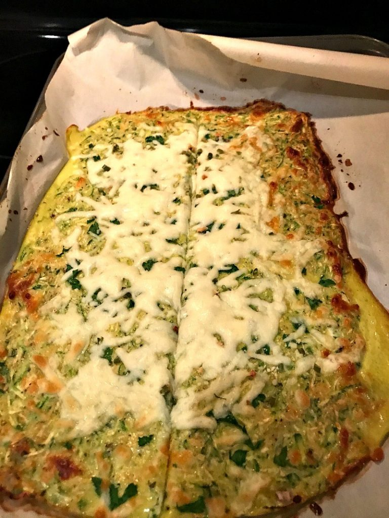 baked zucchini cheese sticks