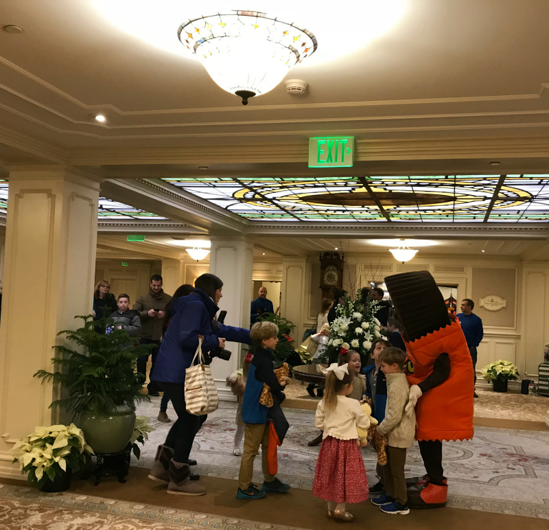 Hotel Hershey Reese's Character Appearance
