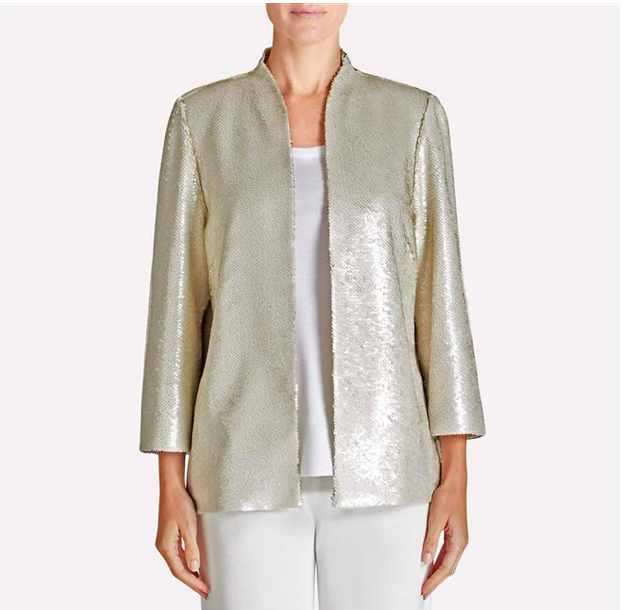 Misook Sequin Jacket