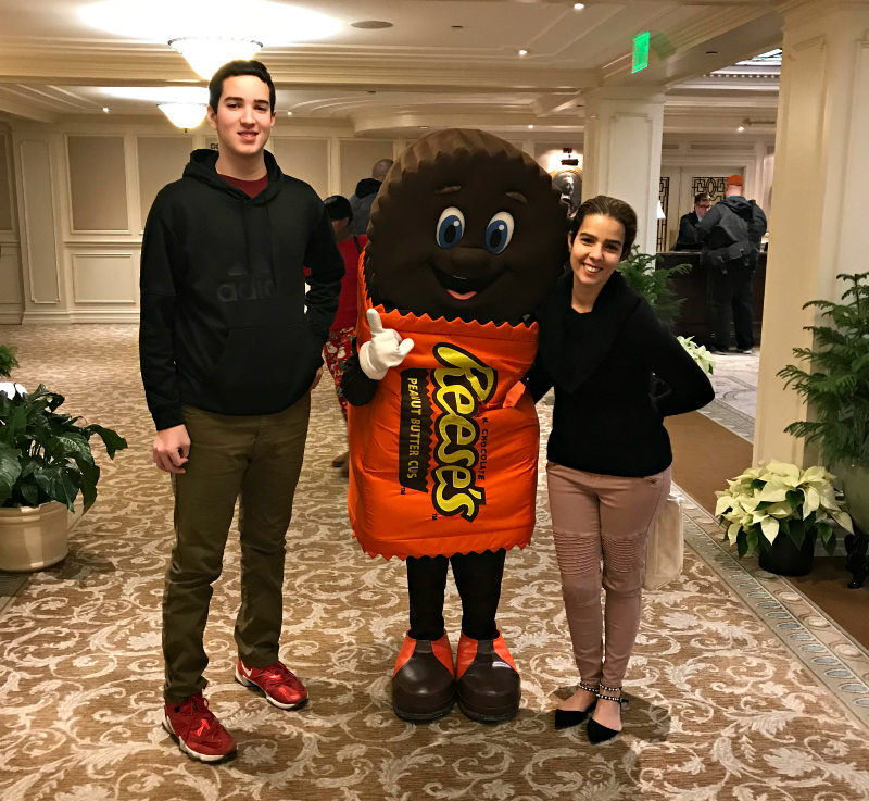 Reeses Character At Hotel Hershey