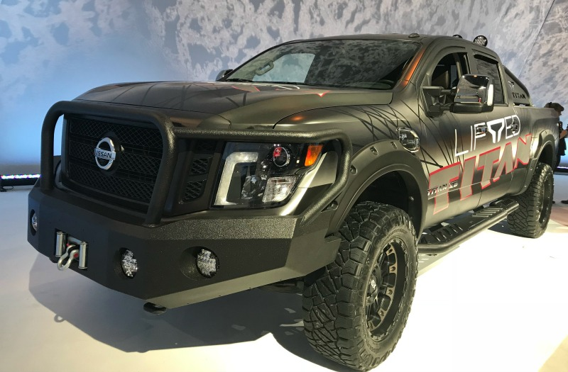 Nissan Titan at CAS
