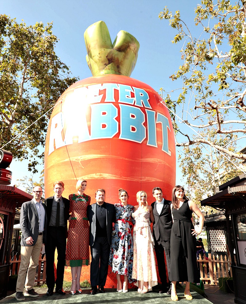 LA Premier Peter Rabbit Cast