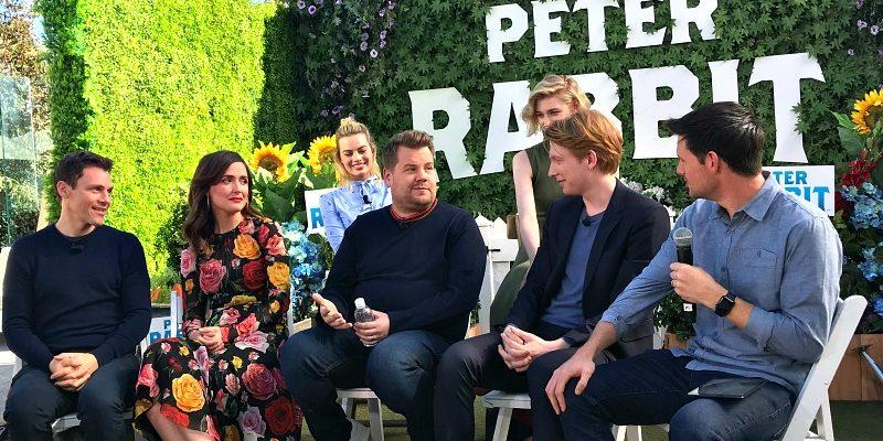 Peter Rabbit Cast Interview