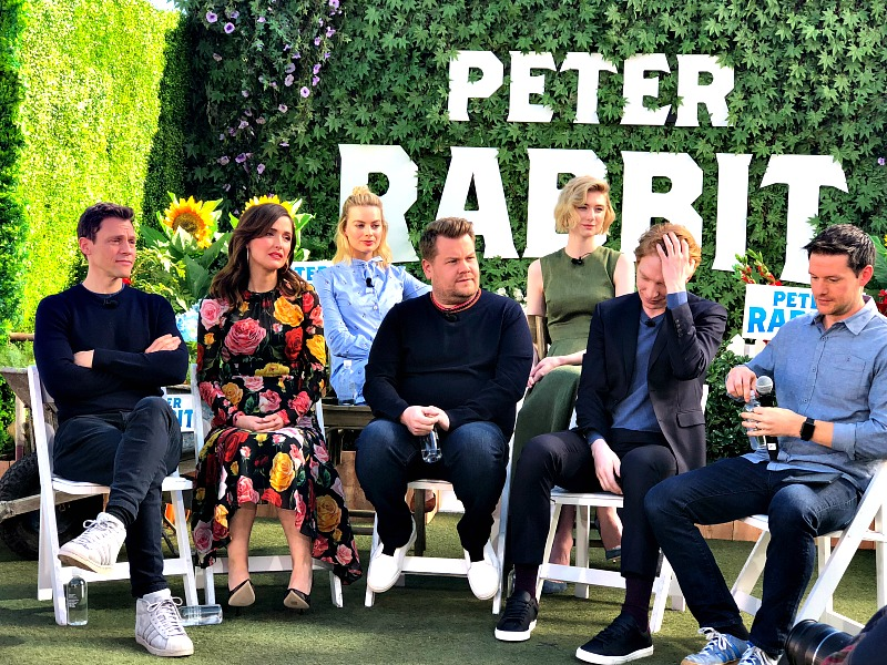 Peter Rabbit Press Event