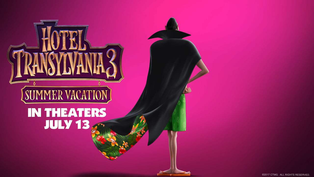 Hotel Transylvania 3 opens in theatres July 13