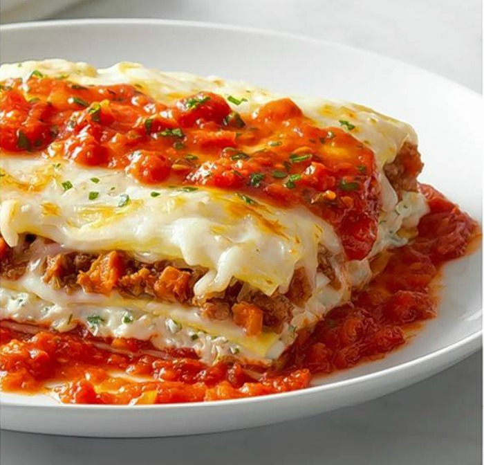Lasagna at Brio