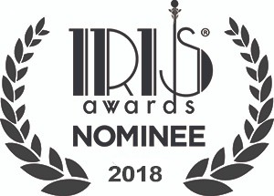 I'm a 2017 Iris Awards Nominee