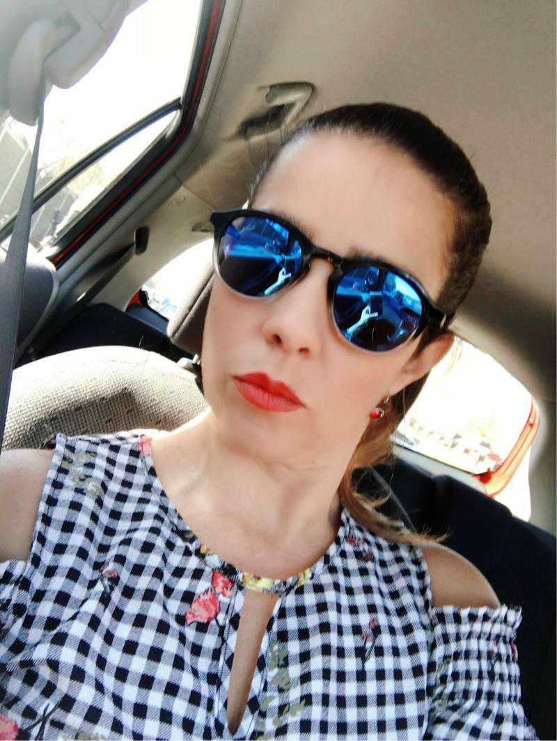 Beautiful Blue Sunglasses