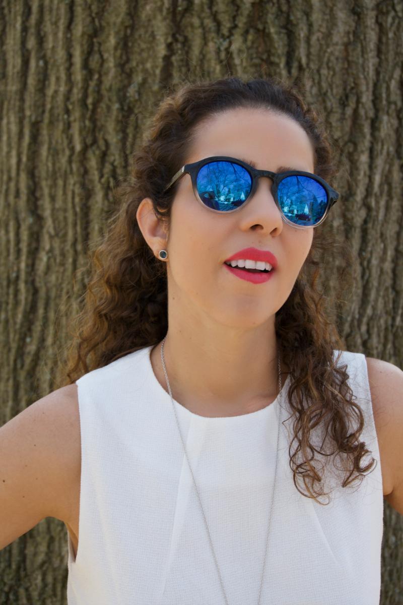 Blue Trendy Sunglasses