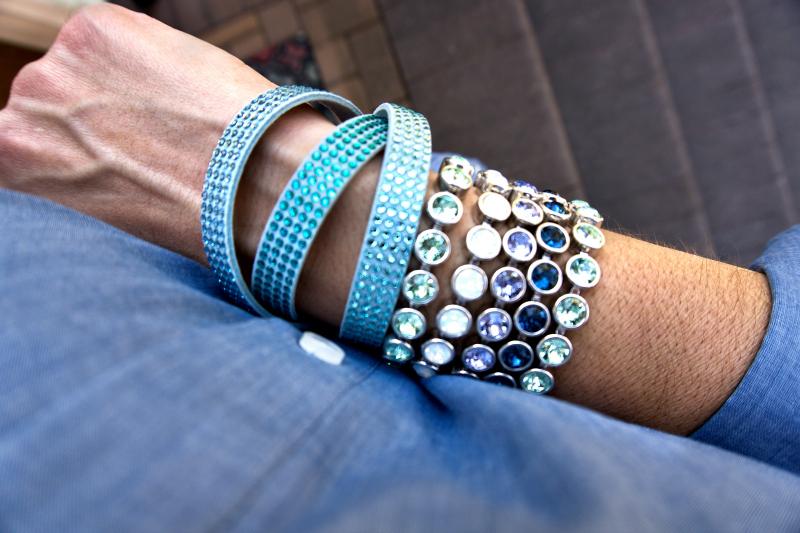 Spring Stack of Bracelets
