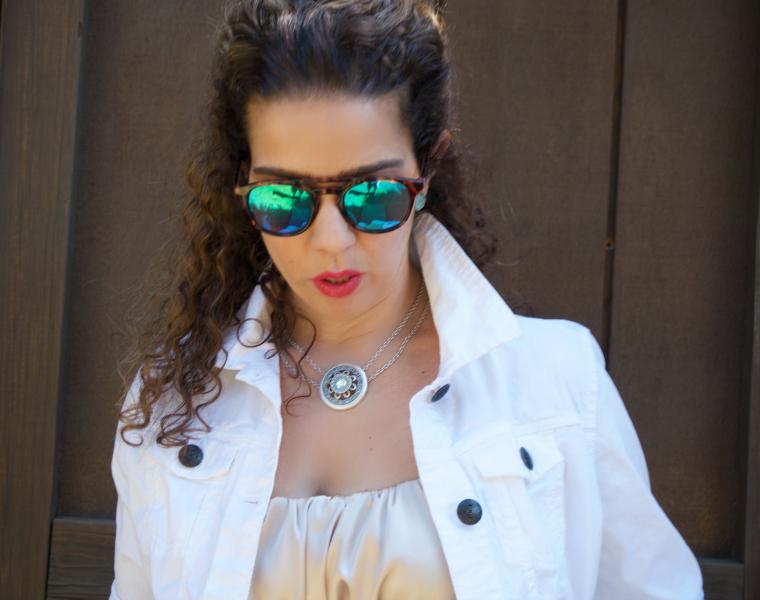 Green Summer sunglasses