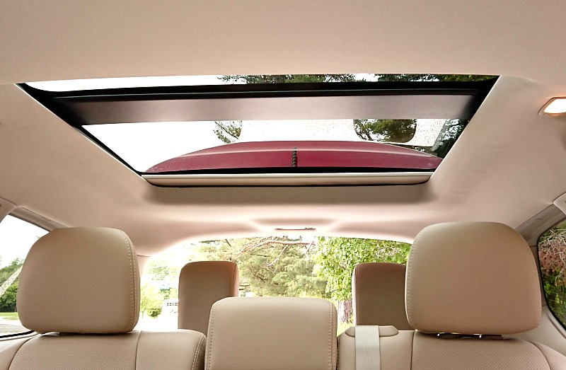 Beautiful sunroof