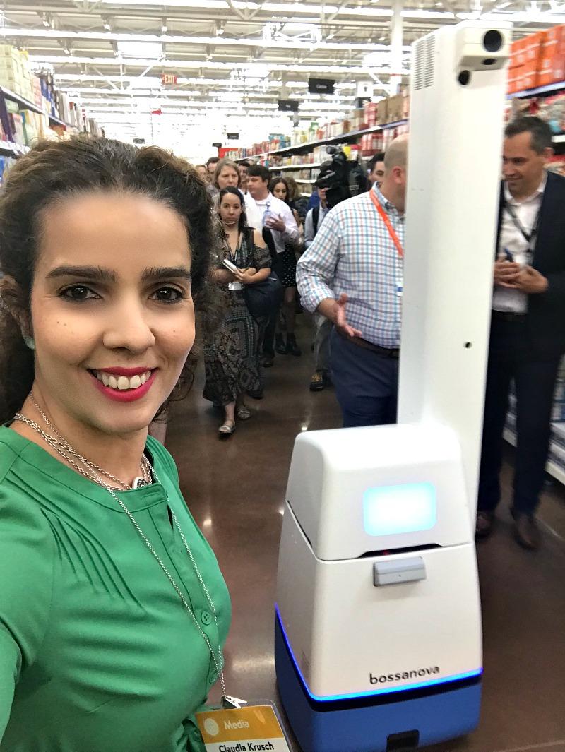 Bossa Nova Robot At Walmart