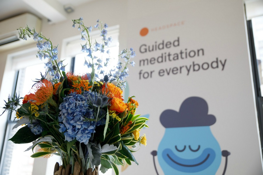 Headspace guided meditation