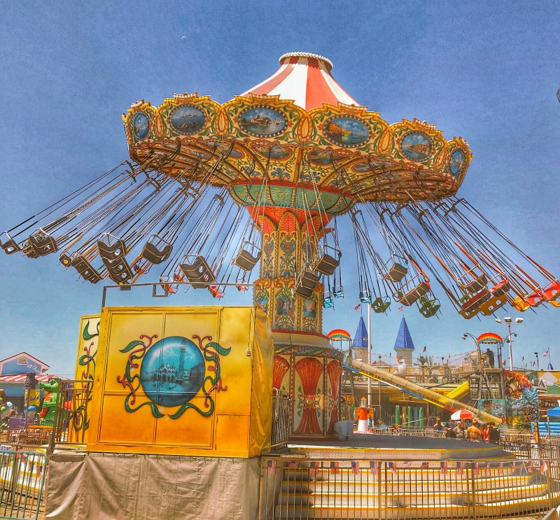 Swing Carrousel in North Jersey
