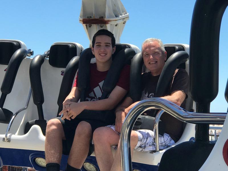 Casino Pier rides