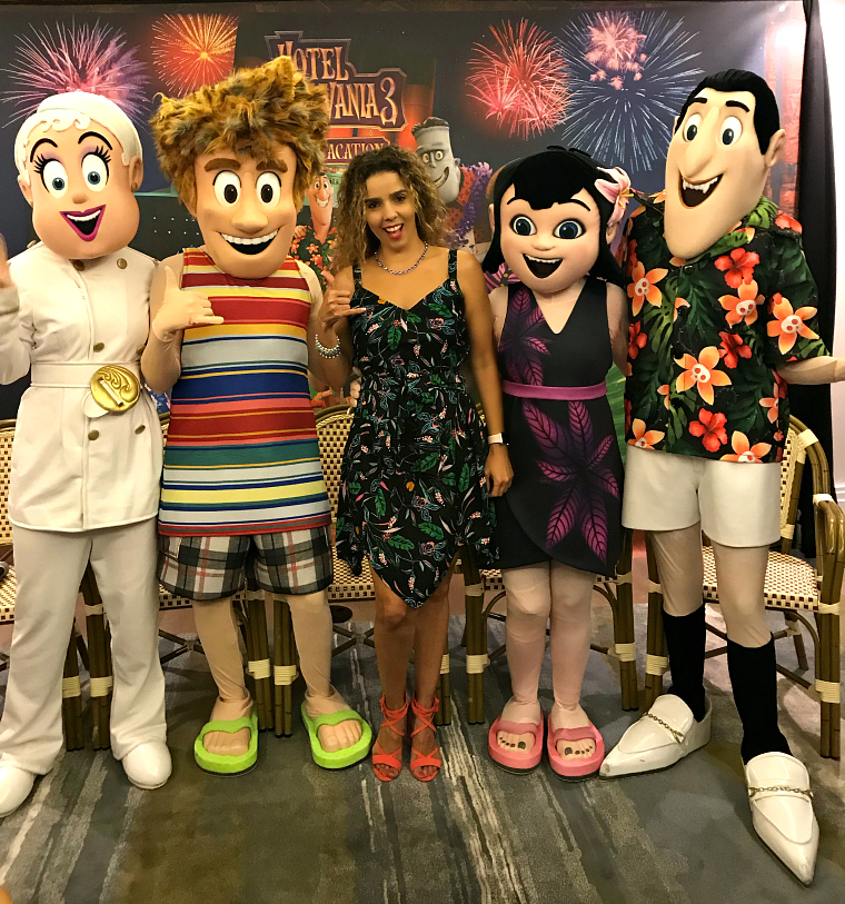 Hotel Transylvania Movie Junket