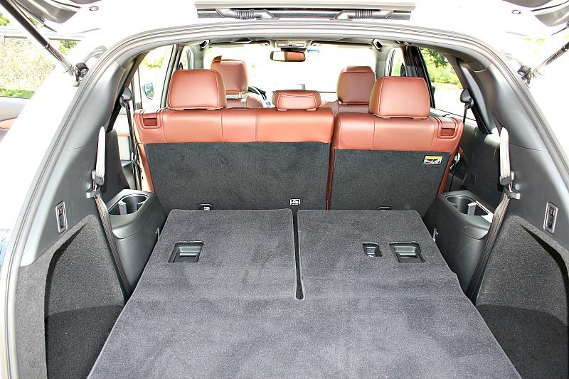 Mazda CX-9 cargo space