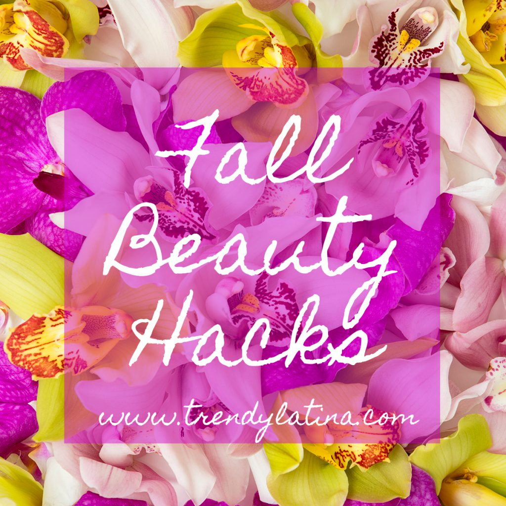 Fall Beauty Hacks