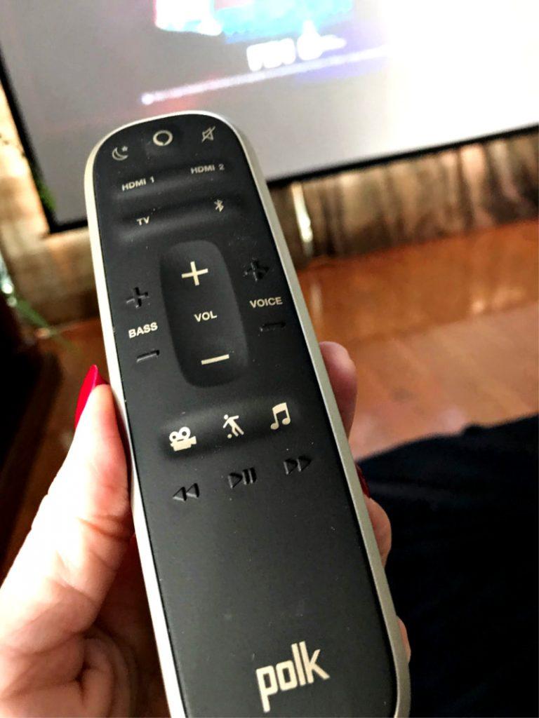 Polk Sound Bar remote control