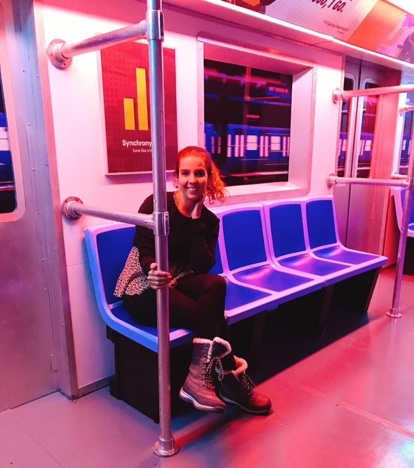 Spider Man Subway