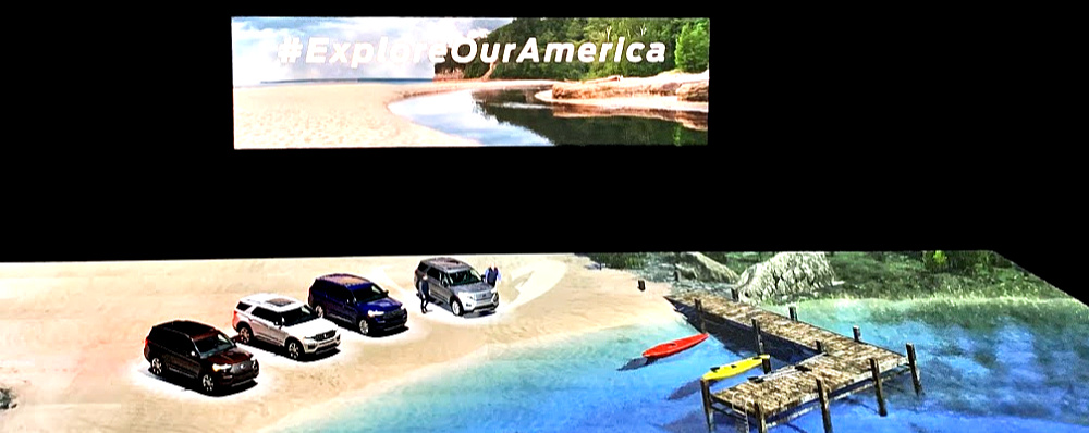 Explore America in a Ford Explorer